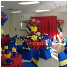 A Super Hero Is On The Way · Baby Shower