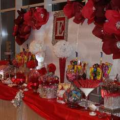 Emily's Sweet 16 - Red and Silver
