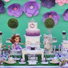 La Fiesta del Té de la Princesita Sofia - Sofia the First