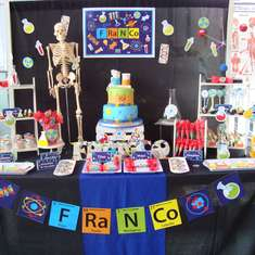 Professor FRANCO and his Science Party  - Science