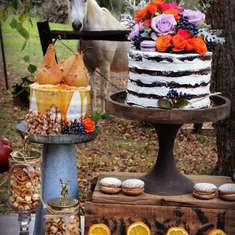 Fall Dessert table - None