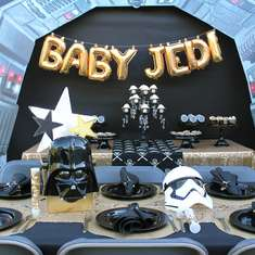 Baby Jedi baby shower - Star Wars baby shower