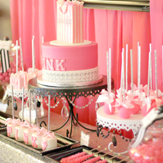 "Pamela's Secret Sweet Sixteen - Victoria Secret ""PINK"""