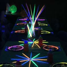 Glow in the Dark Bowling Party - Neon / Glow in the Dark
