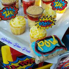 Superhero Babyshower  - Superhero