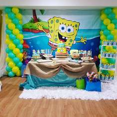 Enzo's  squarepants birthday party  - Spongebob squarepants 2nd birthday