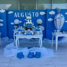 El cumple de Augusto  - Hot Air Balloon