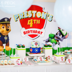 Preston's Chic Paw Patrol Party - Paw Patrol