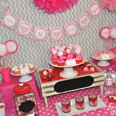 Valentines's Day Birthday Party - Valentine's Day
