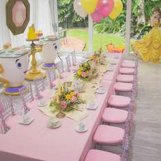 Julia's Belle Tea Party - Belle / Beauty and the Beast