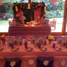 Rapunzel Birthday Party - Rapunzel / Tangled