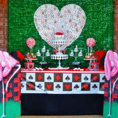 Queen of Hearts UnBirthday Party - Queen of Hearts, Alice in Wonderland, Valentines Day
