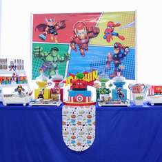 JOAQUIN'S AWESOME SUPERHERO SQUAD BIRTHDAY  - Superheroes