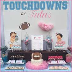 Touchdowns or Tutu's Gender Reveal - Touchdowns or Tutu's
