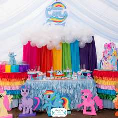 Layla's Rainbow Dash 3rd Birthday Party - Rainbow Dash My Little Pony