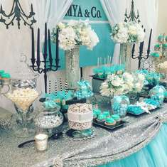 MYA & Co. Baby Shower - Tiffany & Co.