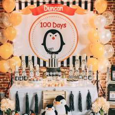 100th days celebration - Penguin Themed