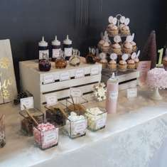 Winter ONEderland Pink and Gold 1st Birthday Party - Winter ONEderland Pink and Gold First Birthday Party