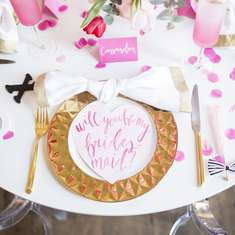 Will You Be My Bridesmaid? Galentines Day Party - Bridal/Bridesmaid Shower