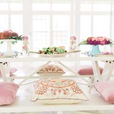 Splash of Pink Picnic  - Floral Picnic