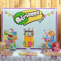 Shopkins 6th Birthday party - Shopkins