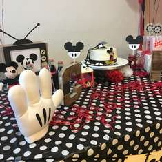 Christopher and Matthew's vintage mickey mouse party - Vintage Mickey Mouse birthday