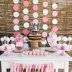 Twin girl's Baby Shower - Twice as nice, with double the love! - Twin Bunny Baby Shower - Girls