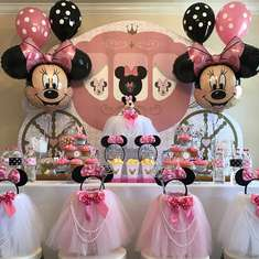 Minnie Mouse Birthday Party - Minnie Mouse