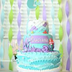 Luciana's Under the Sea Birthday - Mermaid