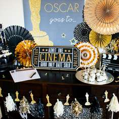 Glitz and Glam Oscar Viewing Party - Oscar Party
