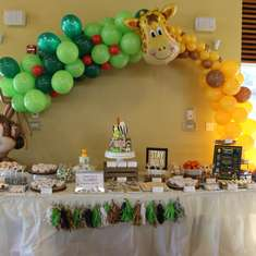 Maddox's Wild One Birthday Party - Safari