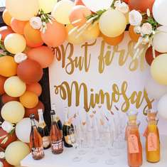 But first, mimosas Bridal Shower - But first, mimosas