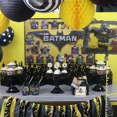 LEGO Batman Movie party - LEGO Batman