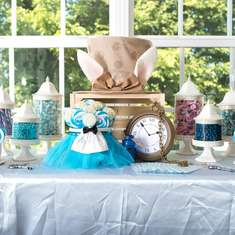 Down The Rabbit Hole Wedding - Alice in Wonderland