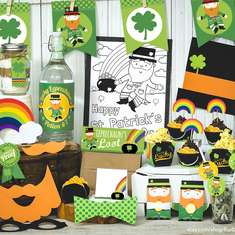 St. Paddy's Day Kid-Friendly Party - Leprechauns
