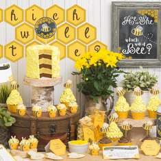He Or She Which Will It BEE Baby Shower