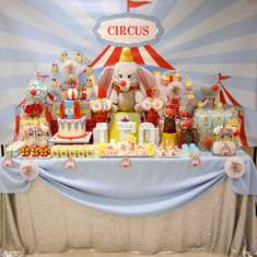 Dumbo Circus First Birthday - Disney Dumbo
