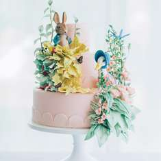 Beatrix Potter Peter Rabbit Inspired Birthday Party and Cake - Beatrix Potter