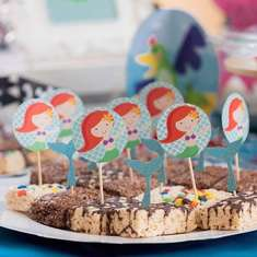 Mermaids and Pirates birthday party - Mermaids and Pirates