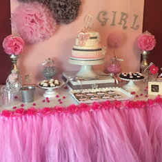 Alyssa's baby shower  - Princess and tutu's