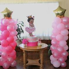 Princess Sariyah Ballerina Baby Shower - Baby Princess  ballerina