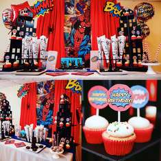 The amazing Spider-Man party - The amazing Spider-Man