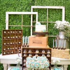 Rustic Baby Shower - None