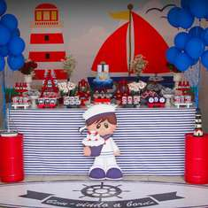 Little Sailor Birthday Party - Sailor