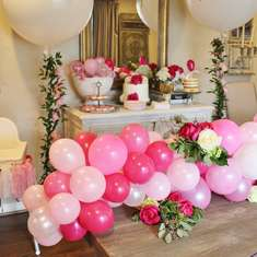 Beautiful Balloons for Eliza's 1st Birthday Party!!! - Balloons