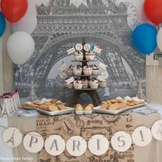 Paris Party with a French Vintage Flair - French / Parisian