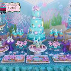 Kristen Mermaid Party - Mermaids