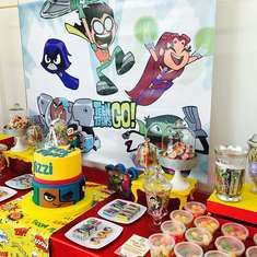 Titans go birthday party - Teens titans go