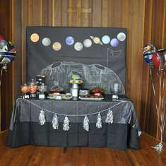 Pierson's Out of this World 7th Birthday - astronauts / space