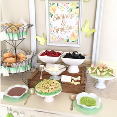 Shortcakes & Springtime - Spring Inspired Shortcake Station
